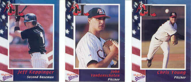2002 Minor League Trading Card Team Sets A M
