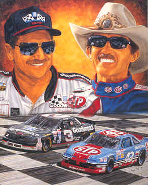 Jeff Gordon Chevrolet >> Kelly Russell Studio Lithographs - NASCAR Lithographs